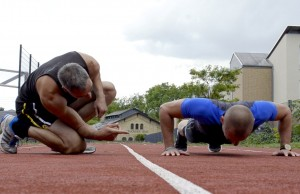 Sten Schulze Personal Training Mike Push Ups